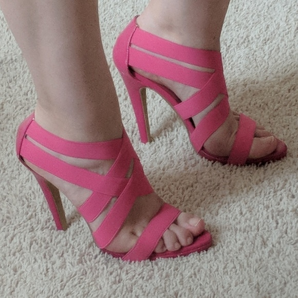 Frederick's of Hollywood Shoes - Frederick's Strappy Heel Sandal